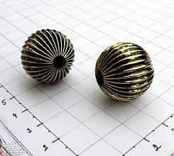 Korálky - Veľká kov 2,2 cm/ 1 ks - 975219