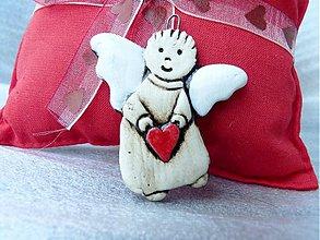 Dekorácie - Lietajúci anjelik - 975924