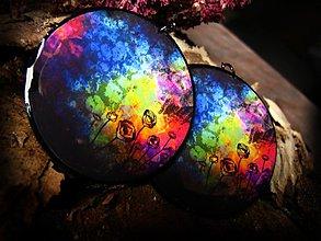 Náušnice - Vesmírna kvetinová odyssea  - 977964