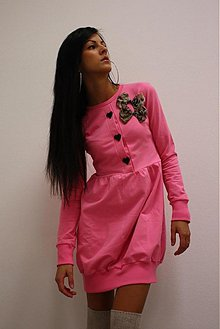 Šaty - Sweet Dress - PINK ! - 979372