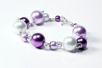 Náramky - Náramok Violet - 983588