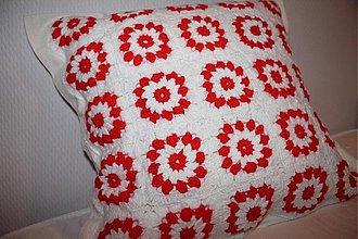 Úžitkový textil - Vankúšik-obliečka... - 989719