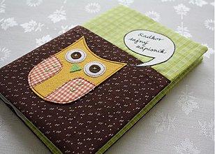 Papiernictvo - Sovičkový zápisník s vreckom - 991270