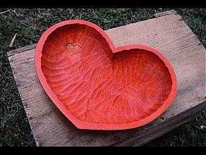 Dekorácie - miska srdce - 991629